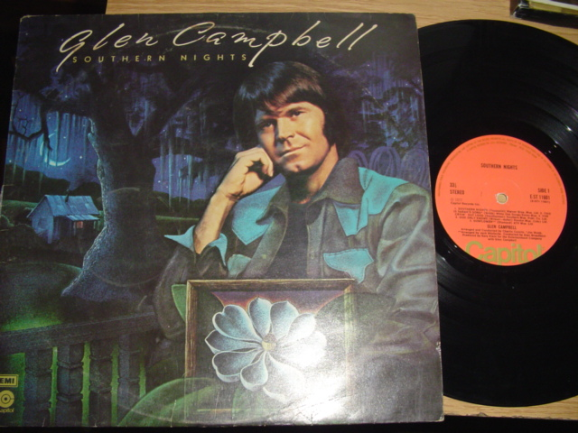 GLEN CAMPBELL - SOUTHERN NIGHTS - CAPITOL