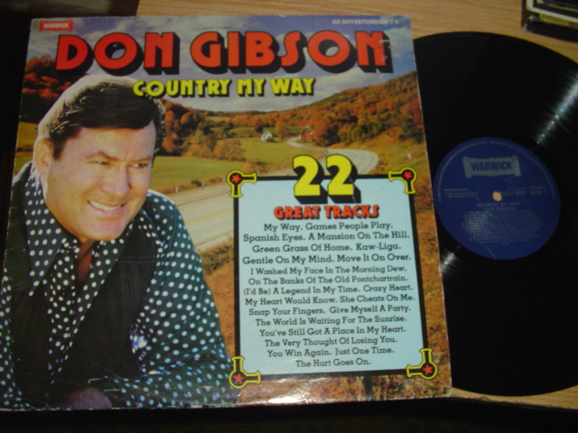 DON GIBSON - COUNTRY MY WAY - WARWICK