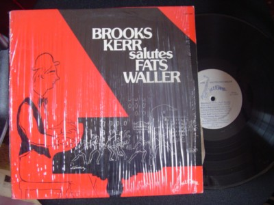 BROOKS KERR - SALUTES FATS WALLER - BLUEWAIL { J 844