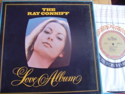 RAY CONNIFF - LOVE ALBUM - 4LP SET COLUMBIA { M 505
