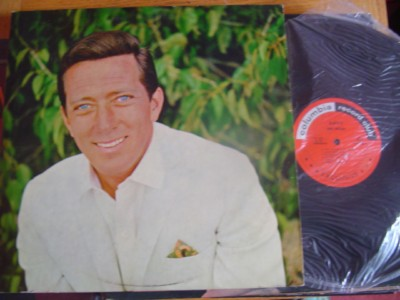 ANDY WILLIAMS - ANDY - COLUMBIA 2LP { M 501