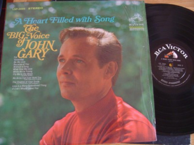 JOHN GARY - HEART FILLED WITH SONG - RCA { M 486