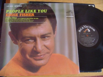 EDDIE FISHER - PEOPLE LIKE YOU - RCA { M 485