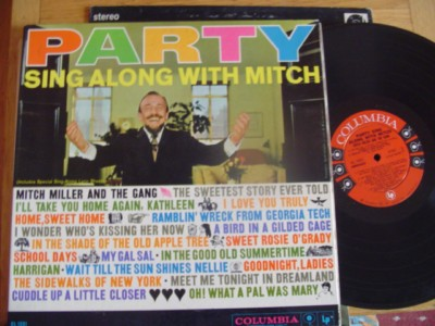 MITCH MILLER - PARTY - COLUMBIA 6 EYE - { M 57 & 484