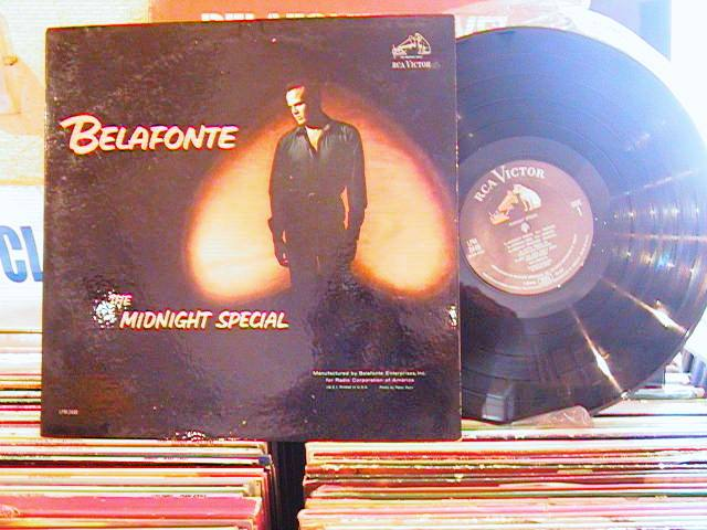 HARRY BELAFONTE - MIDNIGHT SPECIAL - RCA LPM - M 14