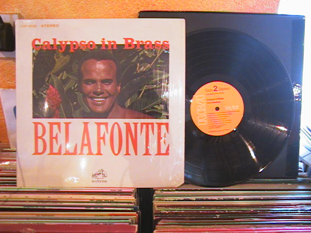 HARRY BELAFONTE - CALYPSO IN BRASS - RCA LSP - M 10