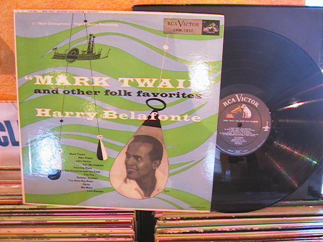 HARRY BELAFONTE - MARK TWAIN - RCA - M 6