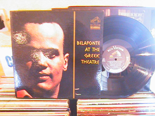 HARRY BELAFONTE - AT THE GREEK - RCA 2 LP - M2