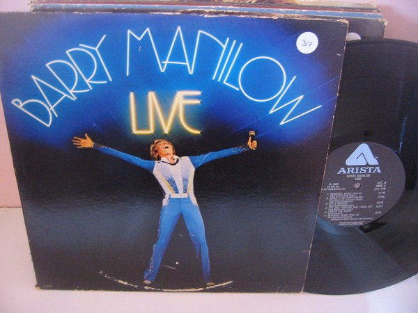 BARRY MANILOW - LIVE - ARISTA 2 LP { MV 317