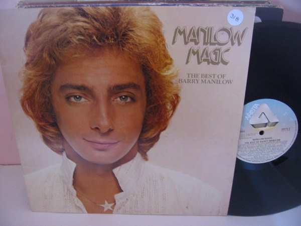 BARRY MANILOW - MANILOW MAGIC - ARISTA UK { MV 318