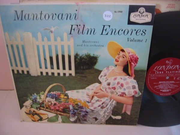 MANTOVANI - FILM ENCORES VOL 1 - LONDON { MV 322