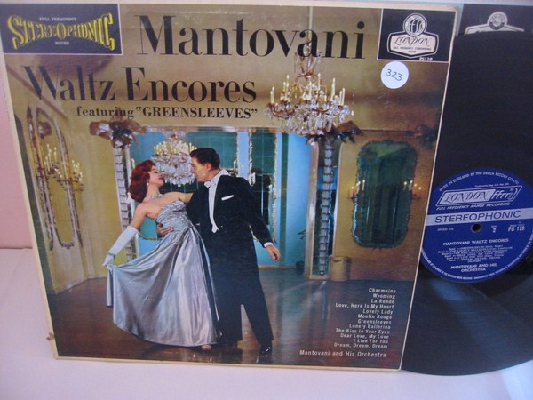 MANTOVANI - WALTZ ENCORES - LONDON { MV 323