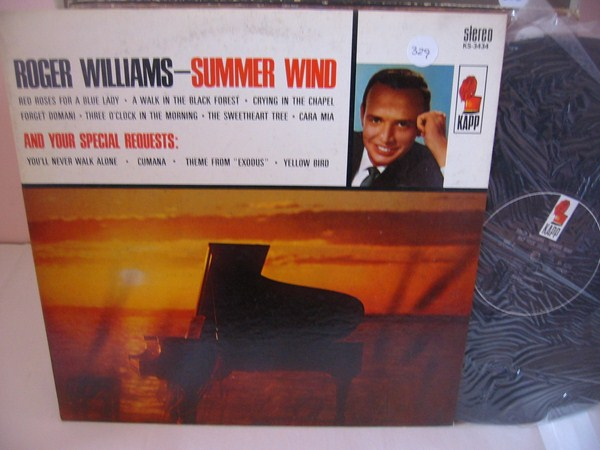 ROGER WILLIAMS - SUMMER WIND - KAPP { 329
