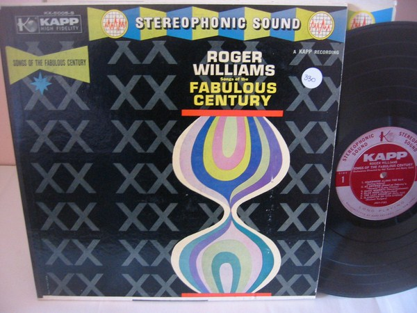 ROGER WILLIAMS - FAULOUS CENTURY - KAPP 2LP { 330