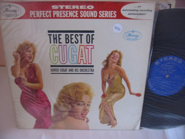 XAVIER CUGAT - THE BEST OF - MERCURY { MV 334