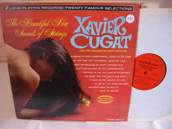 XAVIER CUGAT - MUSICOR 2LP SET { MV 335