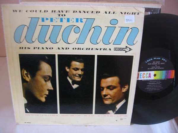 PETER DUCHIN - WE COULD DANCE ALL NIGHT - DECCA { MV 350