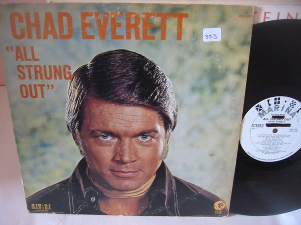 CHAD EVERETT - ALL STRUNG OUT - MARINA PROMO { MV 353