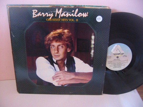BARRY MANILOW - GREATEST HITS VOL 2 - ARISTA { MV 313
