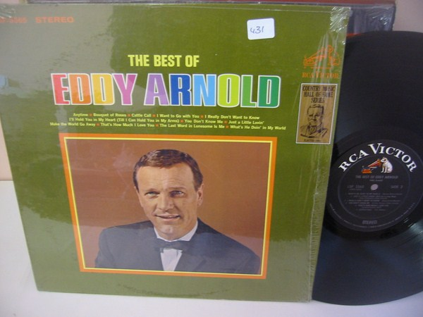 EDDY ARNOLD - THE BEST OF - RCA { MV 431