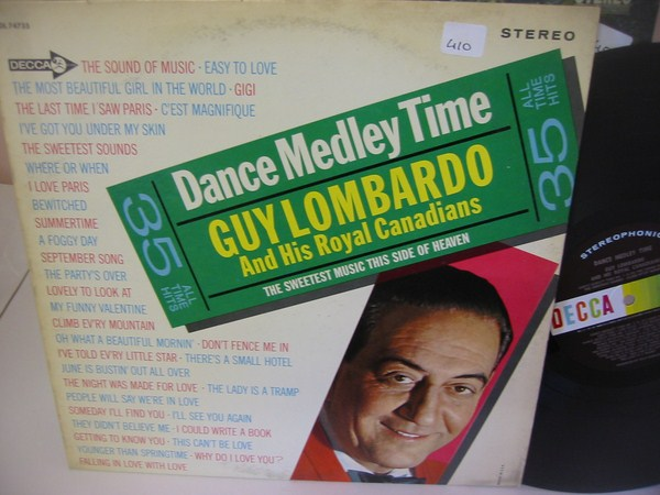 GUY LOMBARDO - DANCE MEDLEY - DECCA { MV 410
