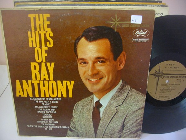RAY ANTHONY - THE HITS OF - CAPITOL { MV 411