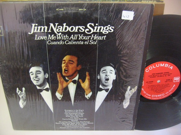 JIM NABORS - SINGS - COLUMBIA { MV 412 & 499