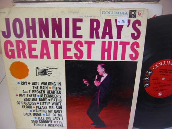 JOHNNIE RAY - GREATEST HITS - COLUMBIA { MV 418
