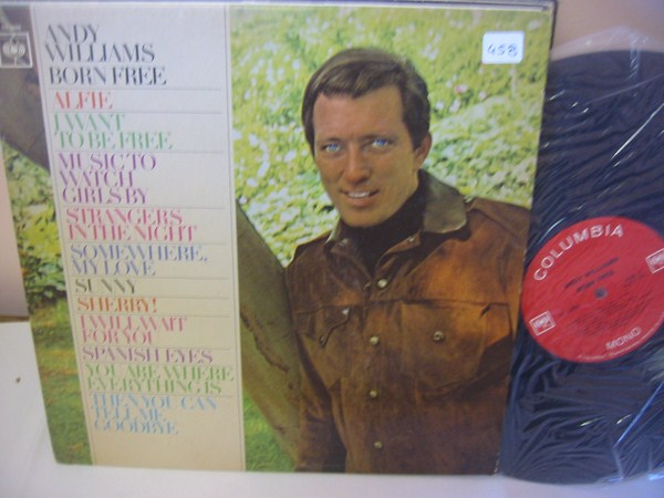 ANDY WILLIAMS - BORN FREE - COLUMBIA { MV 458