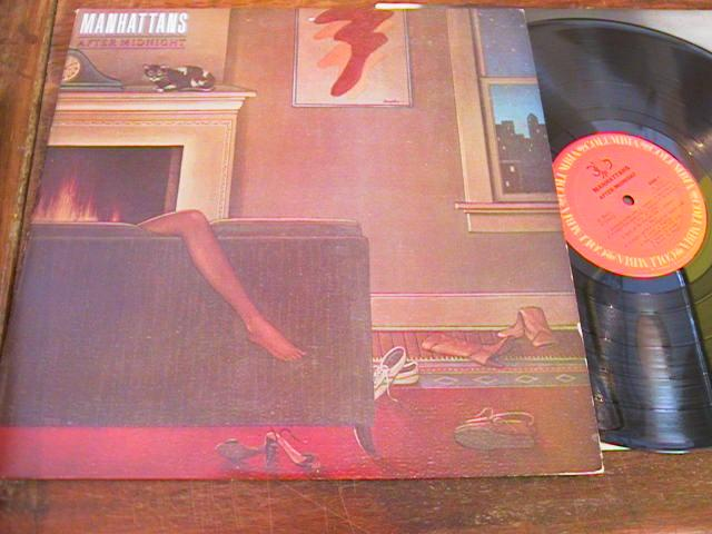 MANHATTANS - AFTER MIDNIGHT - 1980 COLUMBIA