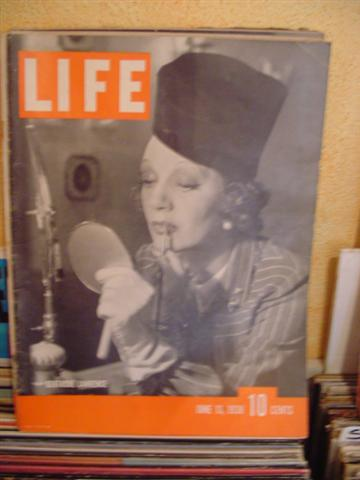 LIFE MAGAZINE - JUNE 13 1938 GERTRUDE LAWRENCE