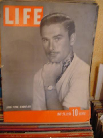 LIFE MAGAZINE - MAY 23 1938 ERROL FLYNN