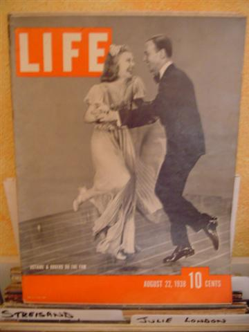 LIFE MAGAZINE - AUGUST 22 1938 ASTAIR & RODGERS