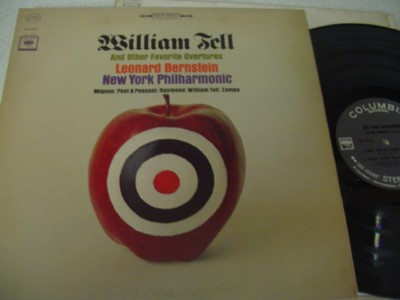 WILLIAM TELL OVERTURE - BERNSTEIN - COLUMBIA { 1136