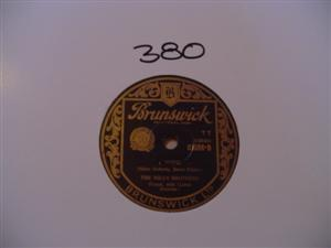 MILLS BROTHERS - I WISH - BRUNSWICK { 380