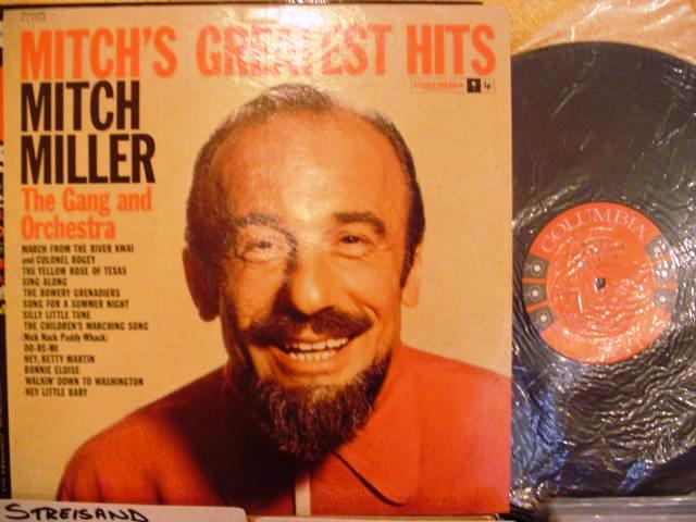 MITCH MILLER - GREATEST HITS - COLUMBIA 6 EYE - M 59