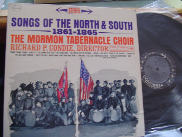 MORMON TABERNACLE CHOIR - SONGS NORTH & SOUTH - COLUMBIA