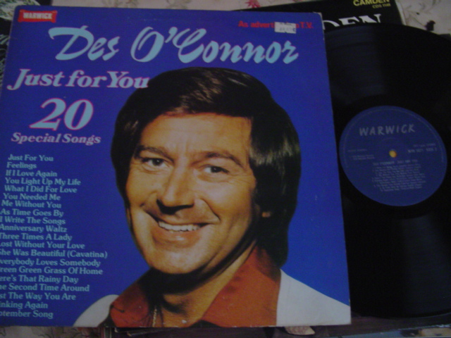 DES O'CONNOR - JUST FOR YOU - WARWICK