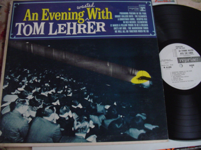 TOM LEHRER - AN EVENING WASTED - REPRISE PROMO