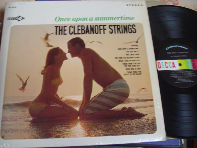 CLEBANOFF STRINGS - ONCE UPON SUMMERTIME - DECCA