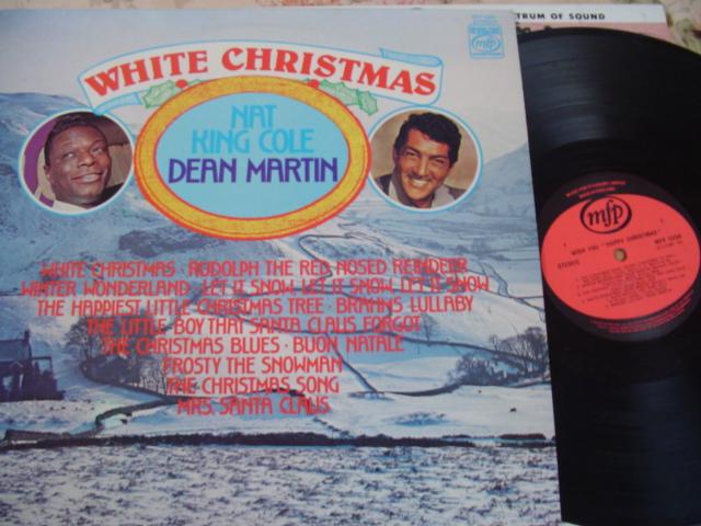 Dean Martin White Christmas.Nat King Cole Dean Martin White Christmas Mfp Lp