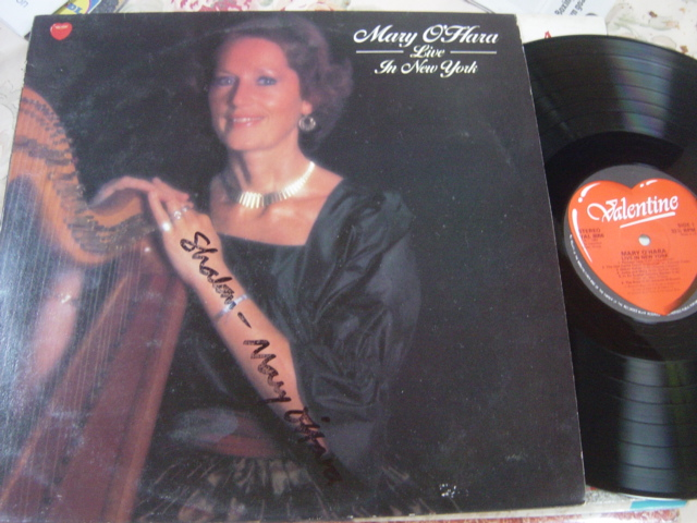 Mary O'Hara - Live in New York Valentine VAL.8056 1983 Signed
