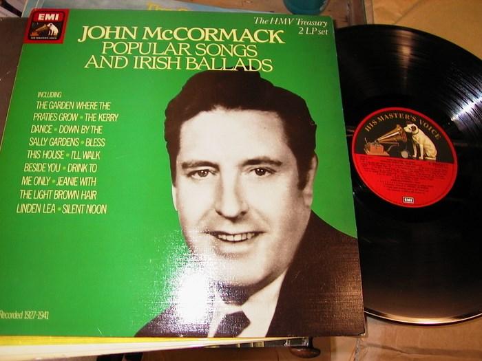John McCormack - Popular Songs & Irish Ballads - EMI 2LP [LP