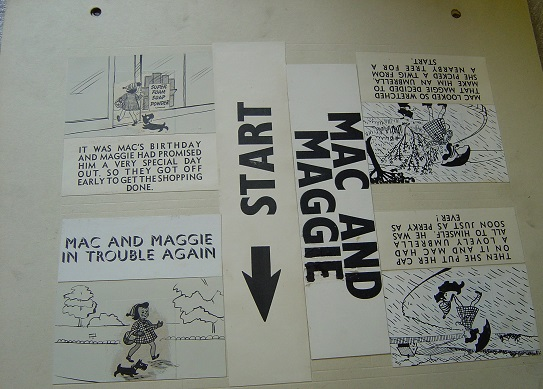 Original MiniCine Artwork - Walt Disney - Mac & Maggie - Martin