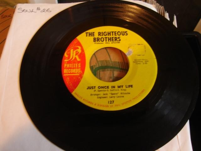 RIGHTEOUS BROS - THE BLUES - PHILLES - 26