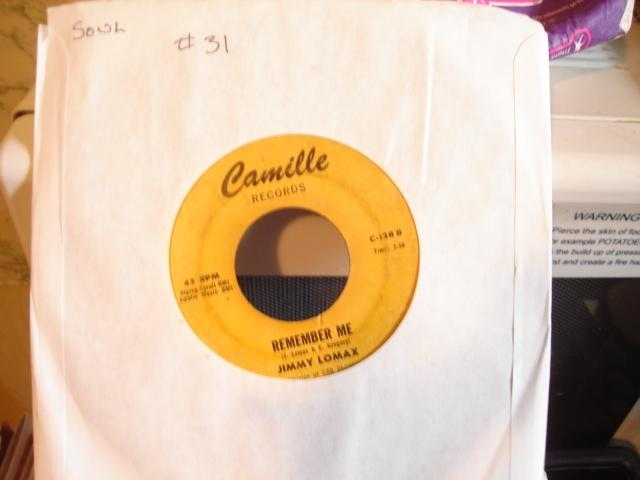 JIMMY LOMAX - IM GONNA LOVE YOU - CAMILLE - 31