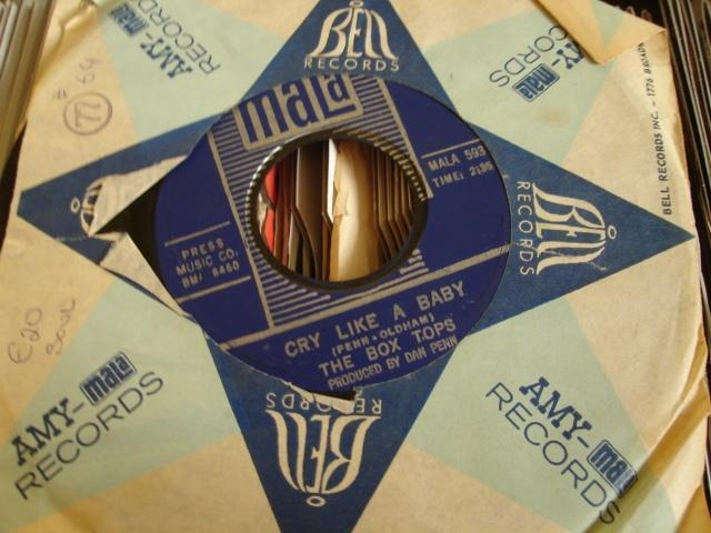 THE BOX TOPS - CRY LIKE A BABY - MALA - 64