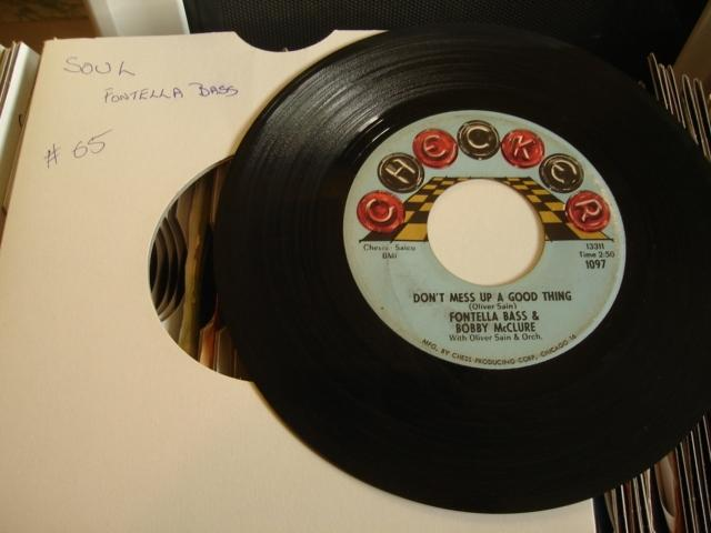 FONTELLA BASS - DONT MESS A GOOD THING - CHECKER - 65