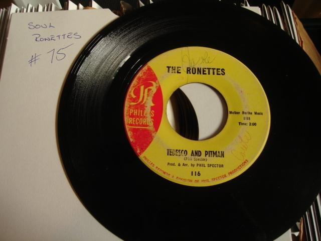 THE RONETTES - BE MY BABY - PHILLES - 75