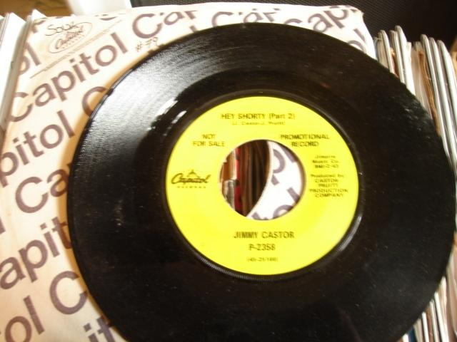 JIMMY CASTOR - HEY SHORTY - CAPITOL - 78